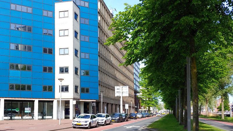 Huis van Stad en Regio - Spuiboulevard-Belastingkantoor