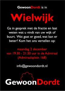 GewoonDordt in Wielwijk