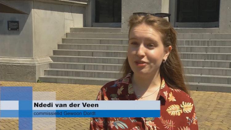 interview Ndedi van der Veen