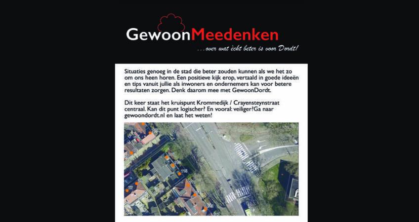 GewoonMeedenken - Krommedijk